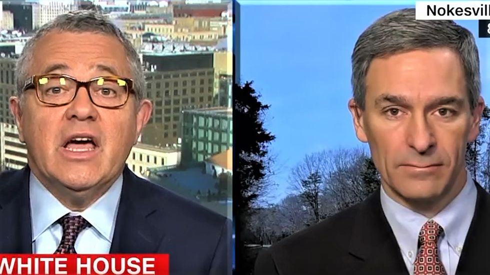 CNN's Toobin shoots down Trump defender's claim there's nothing wrong with paying off mistresses to get elected