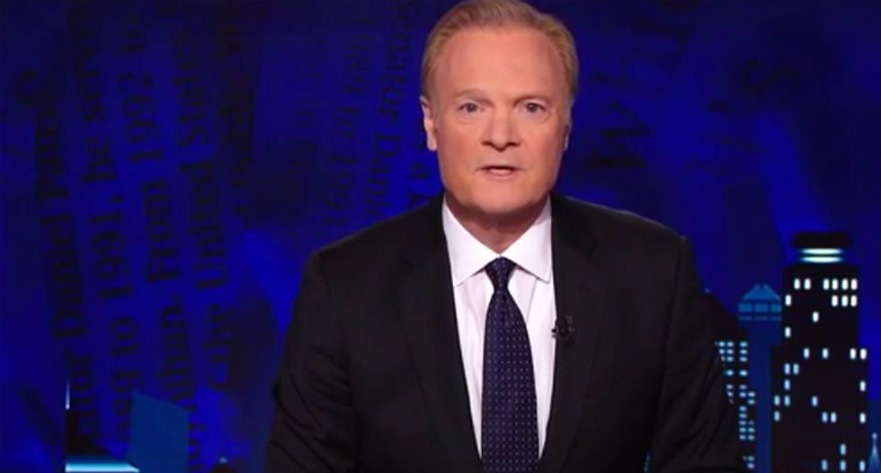 Watch Lawrence O'Donnell's epic destruction of John Kelly for honoring Trump's 'bravery' talking to families of the dead