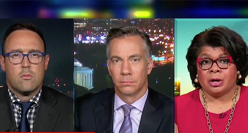 Don Lemon panel scolds Trump for his inappropriate 'condolences' -- and letting Gen. Kelly clean up his mess