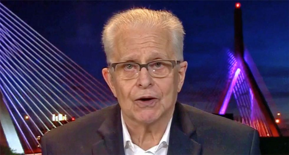 WATCH: Harvard Law professor Laurence Tribe explains why the Constitution requires ability to indict sitting president