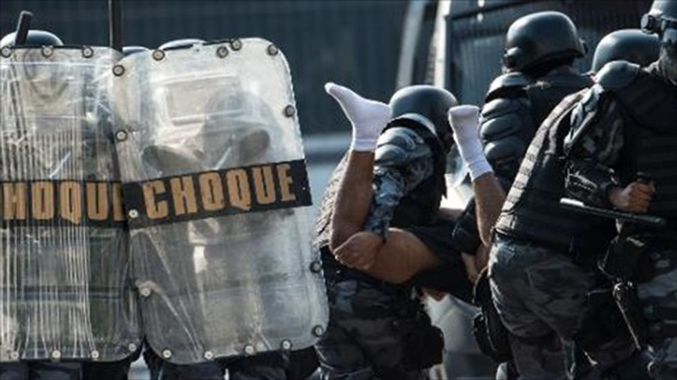 Brazilian cops enlist FBI's help in quelling unrest around World Cup sites