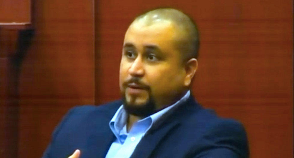 WATCH: George Zimmerman smolders with rage in courtroom rant against 'terrorist' Black Lives Matter