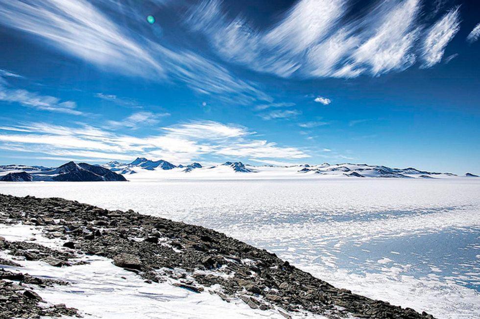 Future ice melt patterns in Antarctica