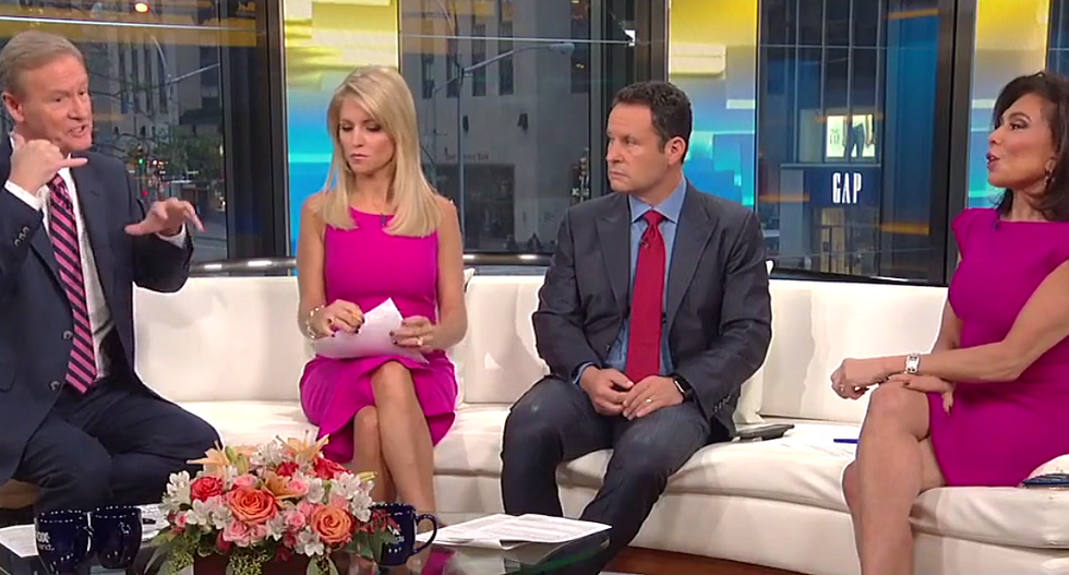 Fox & Friends hosts instruct Trump to 'call Jeff Sessions' and tell him to probe 'the real Russia story'