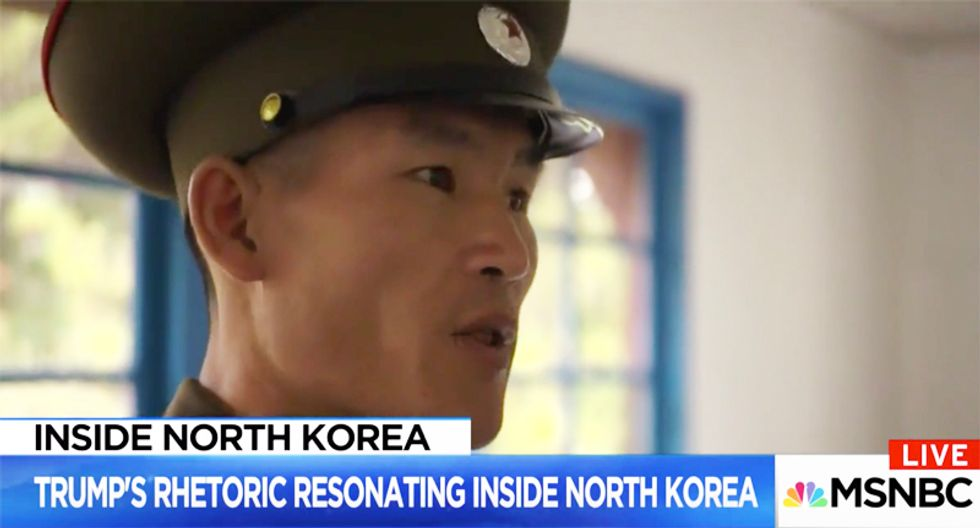 North Korean military official provides chilling answer why his country doesn't fear Trump