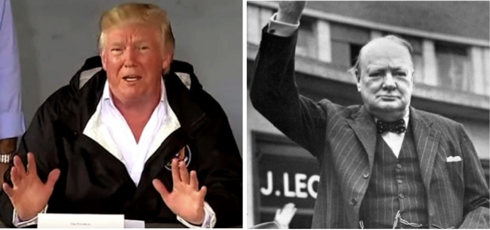 Winston Chruchill's grandson thinks Donald Trump is a 'daft twerp'