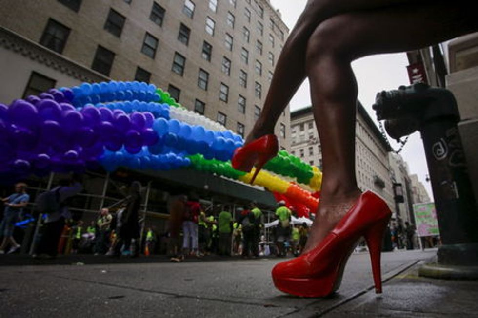 Americans exude joy on Gay Pride Day after court ruling