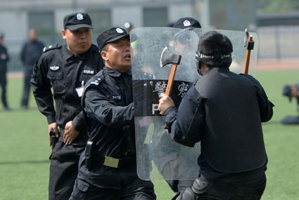 China blames Xinjiang rail attack on foreign group of Islamic extremists