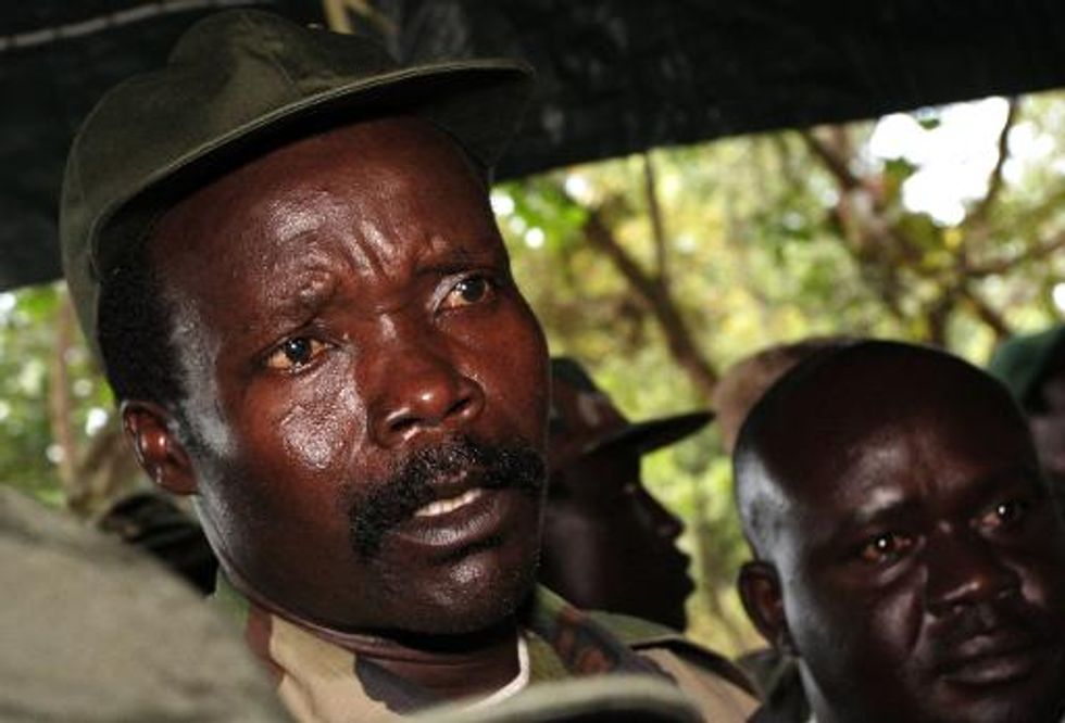 Uganda's Lord's Resistance Army chief Kony 'promotes son to deputy leader'