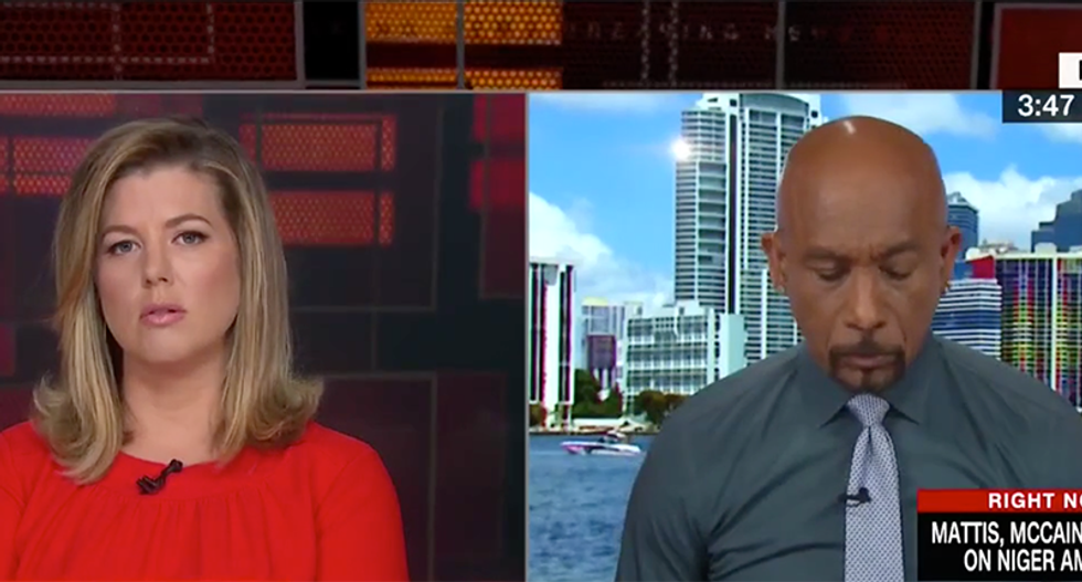 WATCH: Montel Williams chokes up while schooling Trump on how to speak with Gold Star families