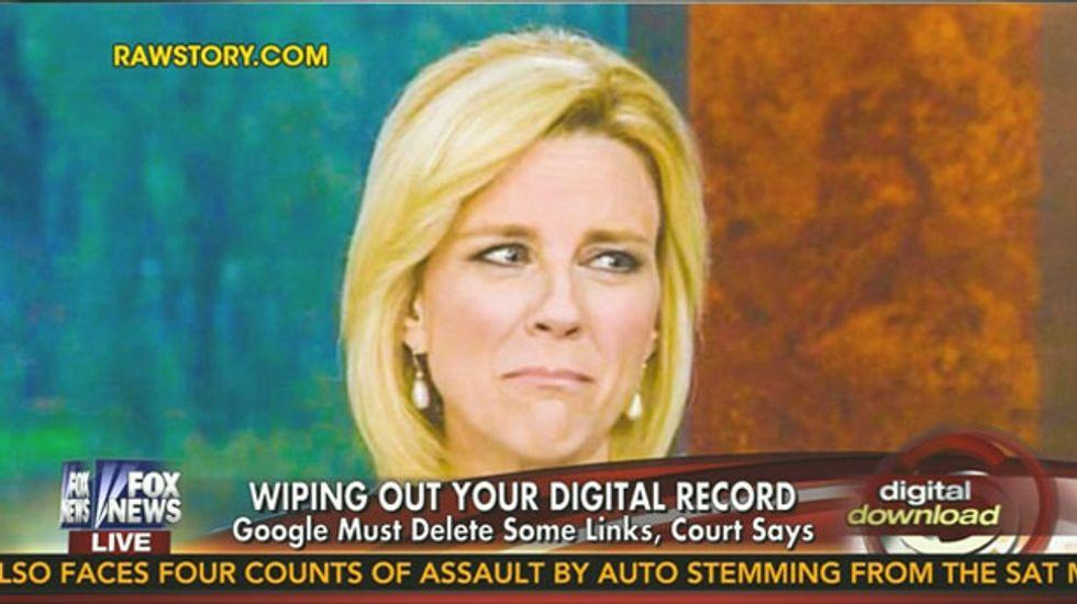 Fox's Lauren Ashburn would like Raw Story's Lauren Ashburn 'sad face' off of the Google