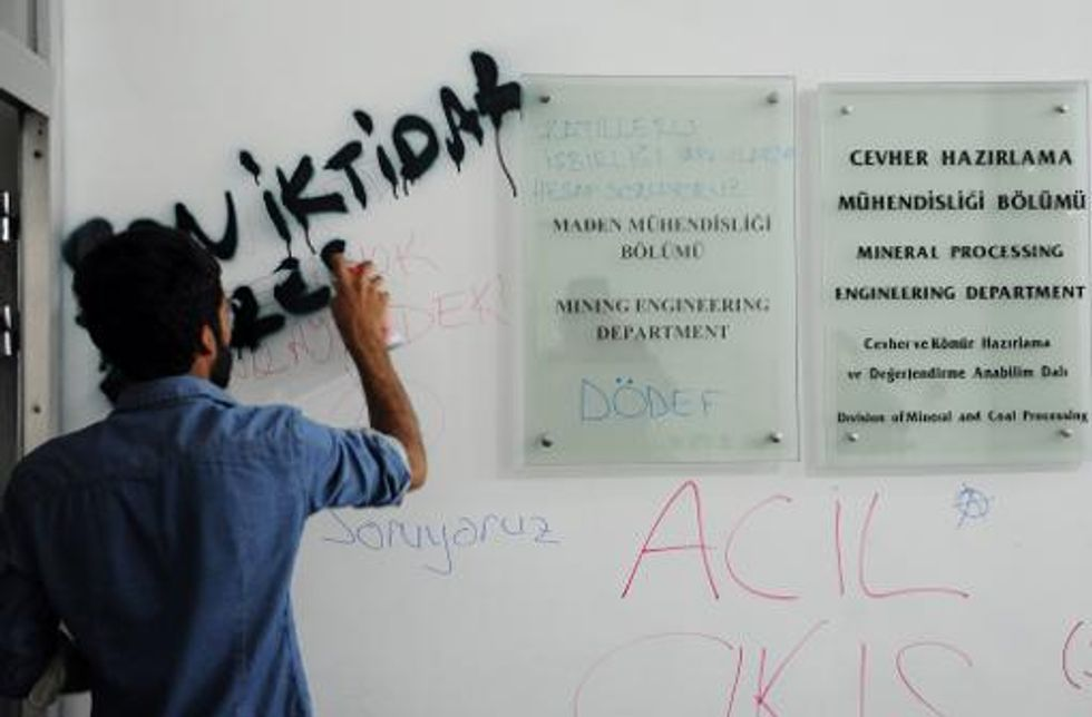 Students occupy Istanbul university over deadly mining disaster that killed more than 300