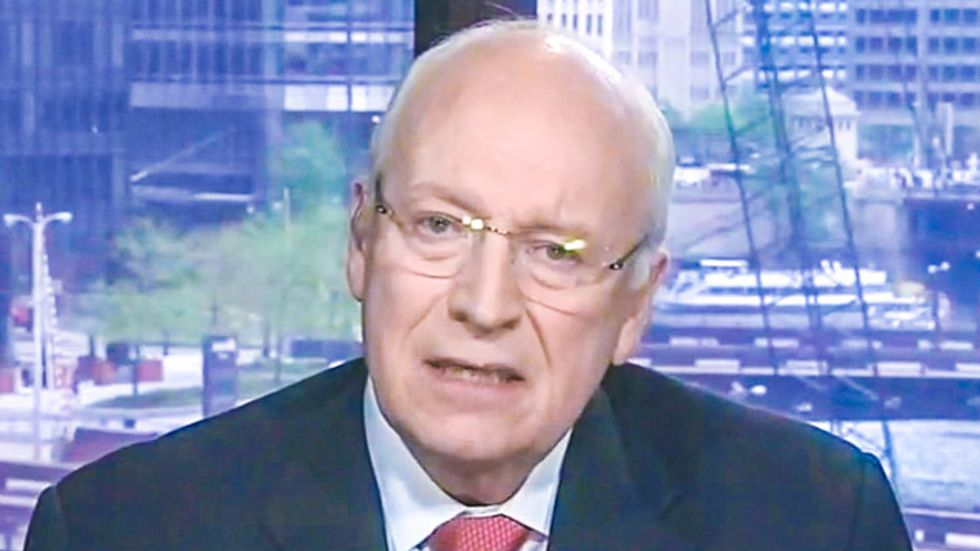 Dick Cheney should -- and eventually will -- be tried as a war criminal: former International Court judge