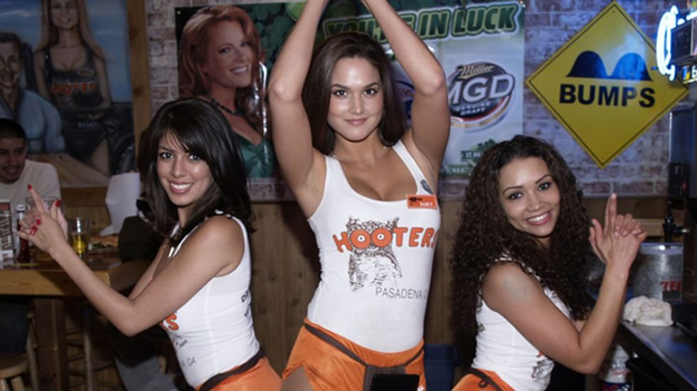 Hooters claims that hackers were responsible for offensive jokes on its Facebook page