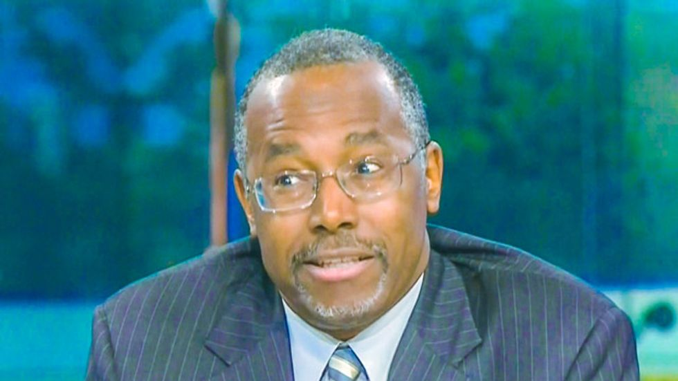 Ben Carson has a 40-minute infomercial he hopes will convince you he's not stark raving mad