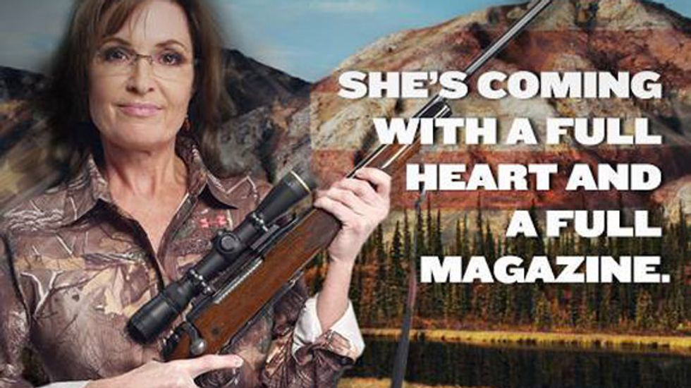 Like word salad through a woodchipper, here is something Sarah Palin really actually wrote
