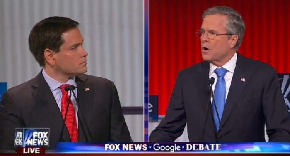 WATCH: Republican candidates debate without Trump on Fox News