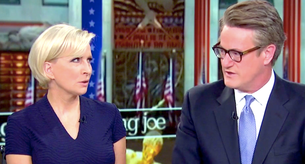 MSNBC's Mika issues dark warning about Trump: 'He wants to use nukes -- he's excited about the concept'