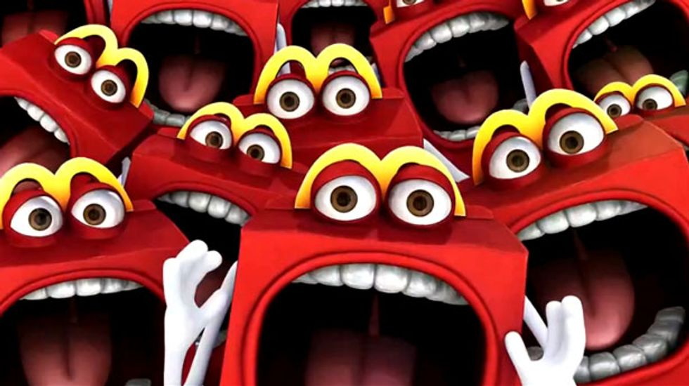 McDonald's unveils new 'Happy' mascot -- or a nightmare-inducing 'McScary' monster?