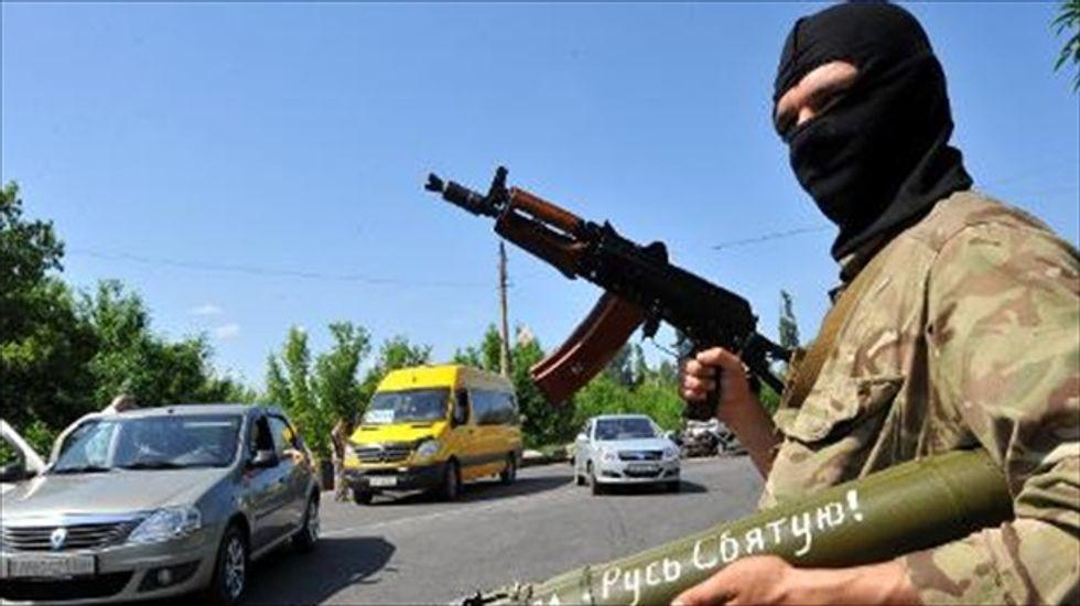 U.S. officials say Russian reporters held in Ukraine 'had missiles'