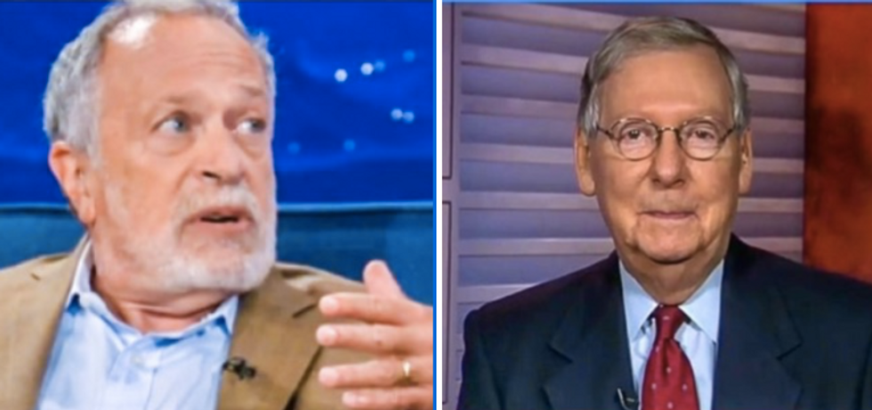 Robert Reich blisters Mitch McConnell: 'He is no patriot. He has shamed himself and America'