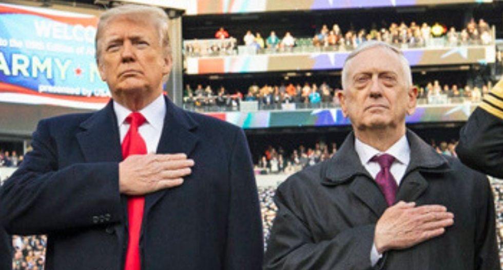 READ IT: Defense Secretary Jim Mattis takes aim at Trump's Syria pullout in resignation letter