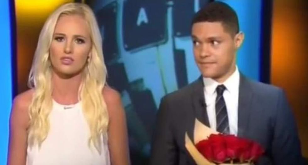 'Daily Show' scorches 'child soldier' Tomi Lahren: 'She's angrier than 50 Clint Eastwoods'