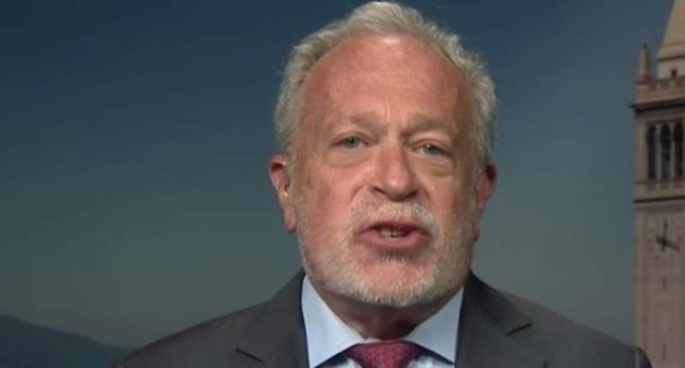 Robert Reich blisters 'compassionless and paranoid' Donald Trump in review of his first 100 days