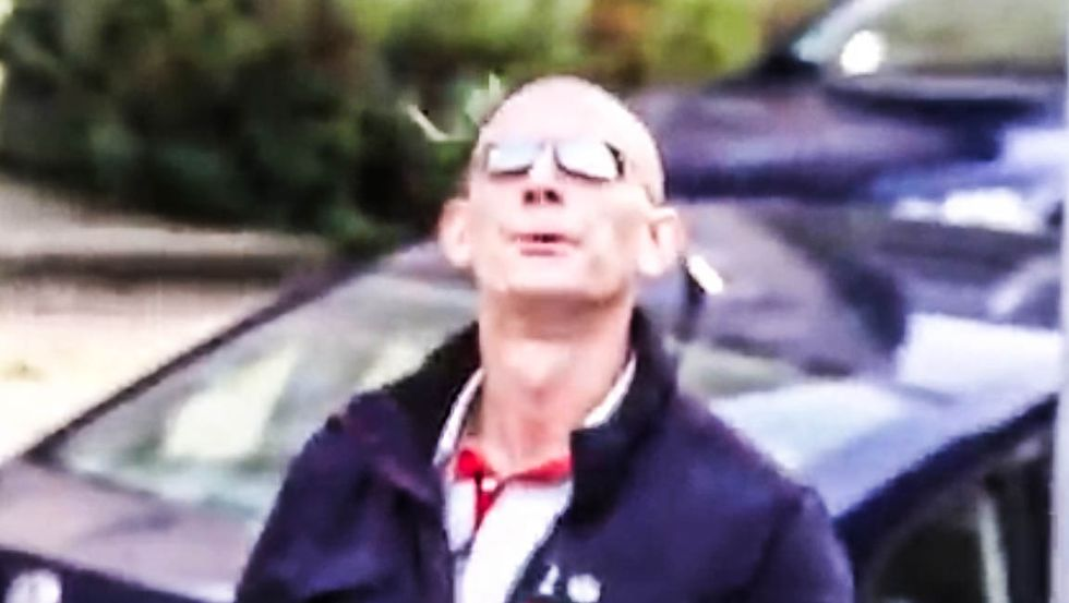 WATCH: Neo-Nazi spits at 84-year-old Holocaust survivor before giving the 'Heil Hitler' salute