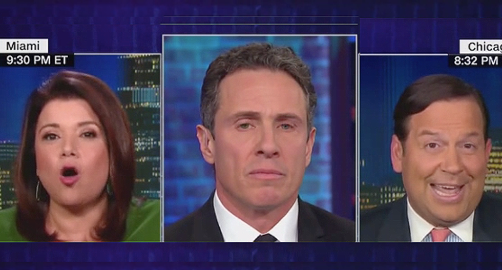 'Spare me the BS': Chris Cuomo rips Trump-lover for hypocrisy on Don Jr comments