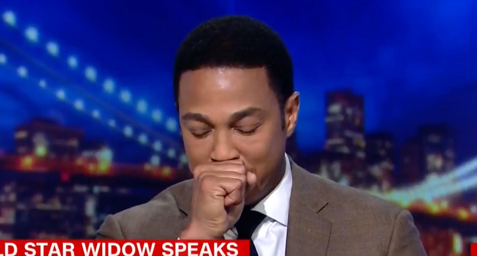 'My heart was broken': CNN's Don Lemon chokes up while reading open letter to Trump