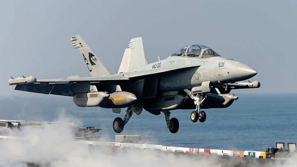GOP-led House orders the Pentagon to build more 'Growler' planes than it wants