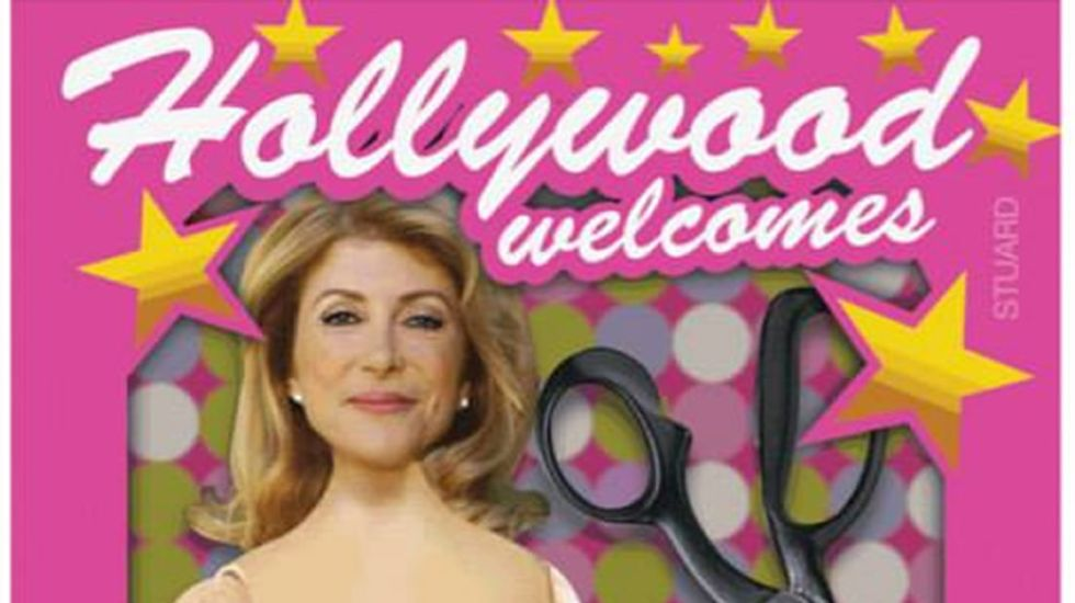 TX woman pays conservative artist to welcome 'Abortion Barbie Wendy Davis' to Hollywood