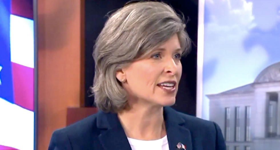 'Embarrassed you're my senator': Joni Ernst torn to shreds for whining about Dem impeachment inquiry