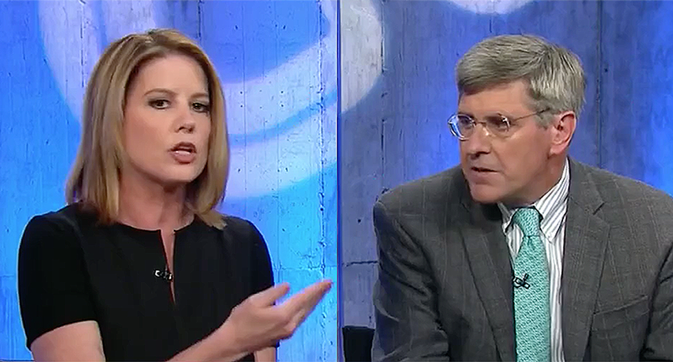 WATCH: CNN's Kirsten Powers rains hell on Trump surrogate for whining about sexual harassment