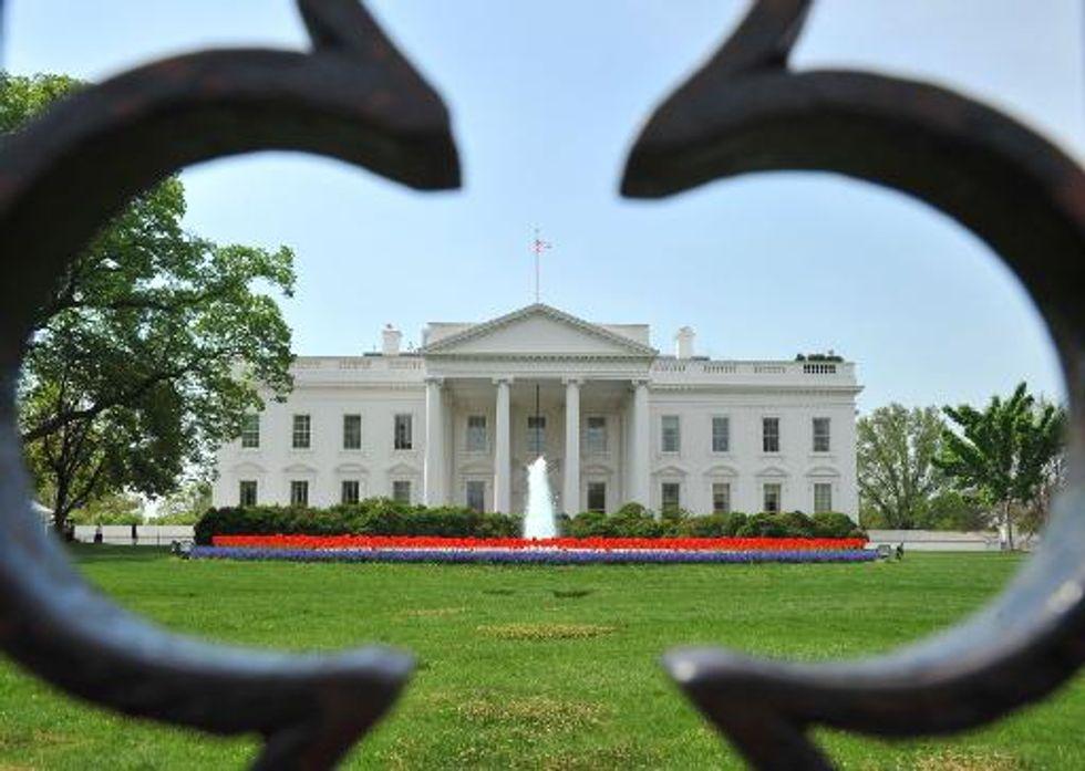 Man strips naked outside White House