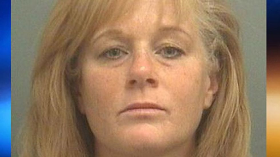 Florida woman shoots at bar pick-up as he tries to leave because 'things were getting weird'