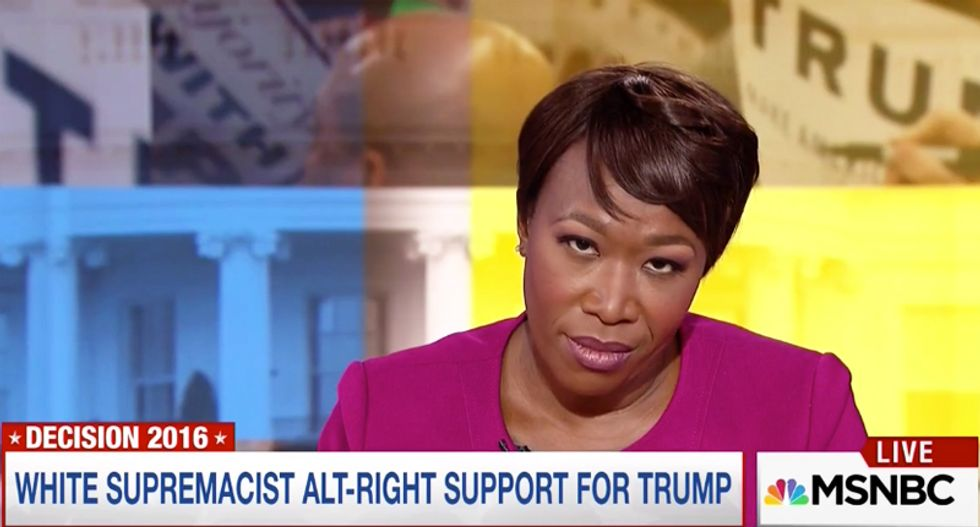 WATCH: Joy Reid unloads on Trump advocate touting candidate's  'incredibly non-racist campaign'