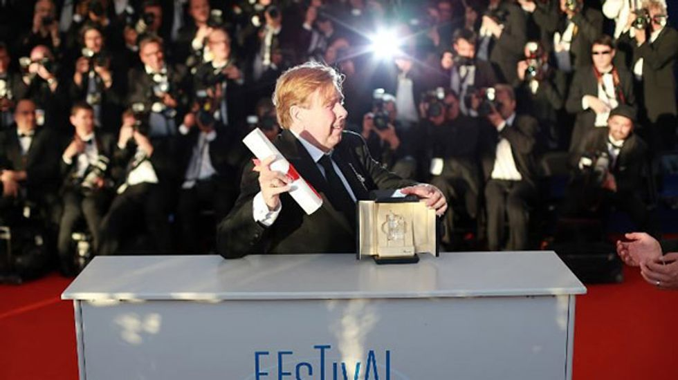 'Bewildered' British actor Timothy Spall wins best actor at Cannes