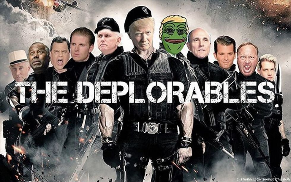 Meet the 'Deplorables': 13 despicable characters in Trump's very crowded basket
