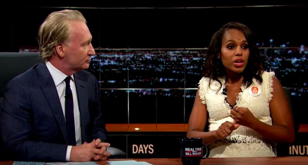 WATCH: Kerry Washington opens a can of whoop-ass on 'fear and hate' candidate Donald Trump