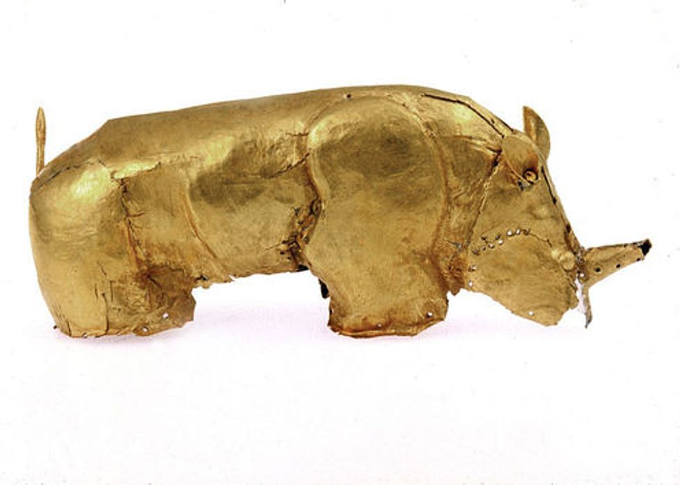 Meet the 800-year-old golden rhinoceros that challenged apartheid South Africa