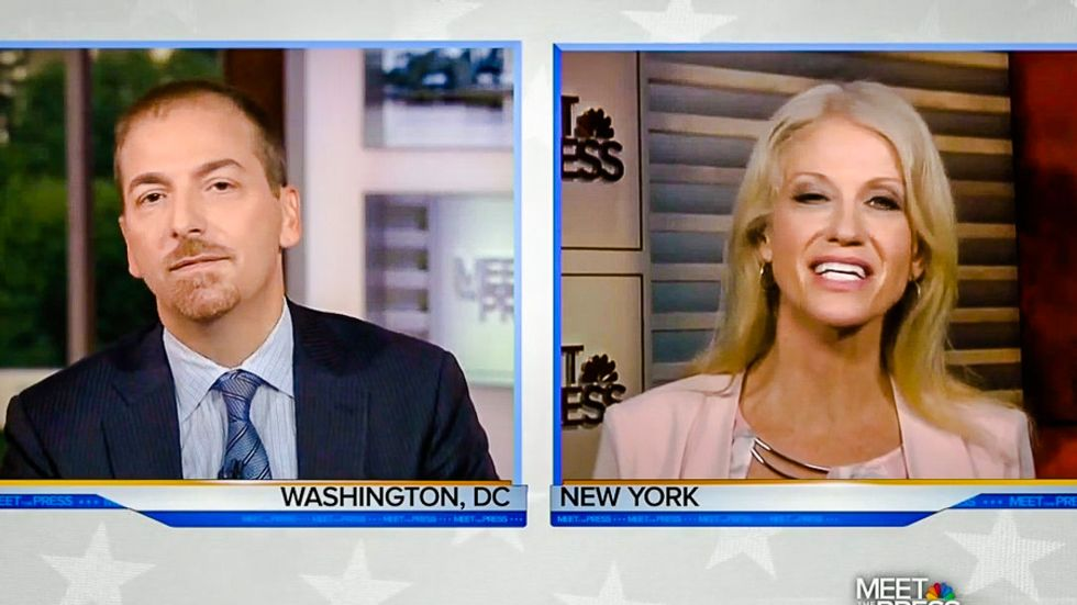 'You'll have to ask him': Kellyanne Conway plays dumb about when Trump gave up birtherism