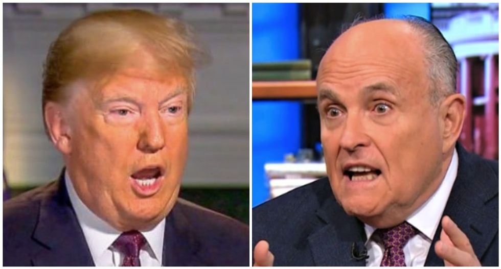 Trump instructed staff to let off an Iranian gold trader linked to Rudy Giuliani: report