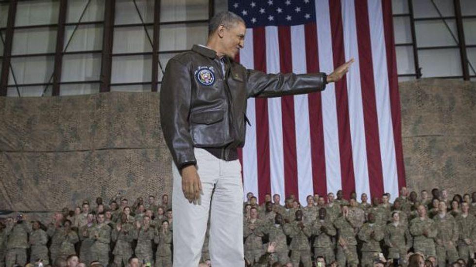 Obama pledges: No new ground troops to Iraq