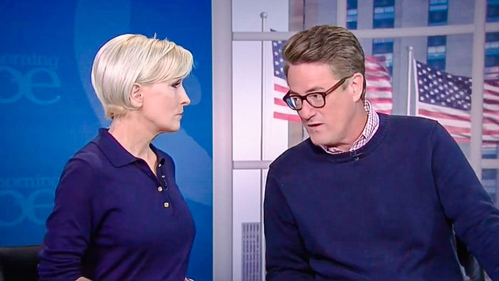 Joe Scarborough catches holy hell on MSNBC for defending Trump's assassination jab at Clinton