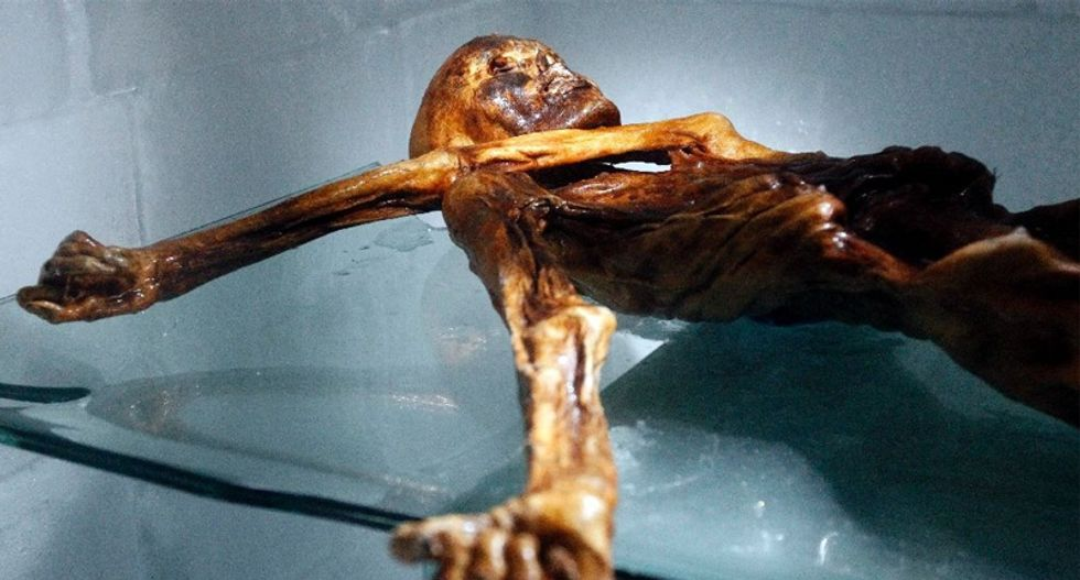 Stone Age mummy Oetzi is still revealing secrets, 25 years after discovery in the Alps