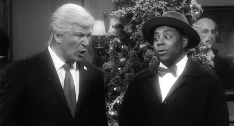 SNL roasts Trump with parody of 'It's a Wonderful Life' where he was never president -- and everyone is better off