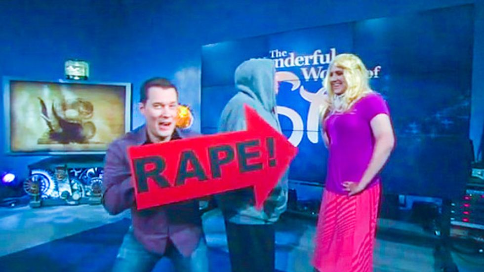Glenn Beck airs 'rape' comedy skit to mock sexual assaults in response to Calif. shootings