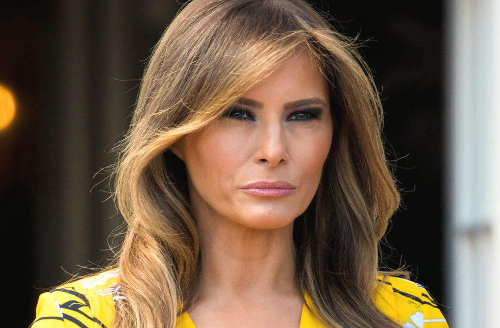 Historians explain how Melania's Davos cancellation is a 'subliminal message' aimed directly at Trump